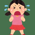 泣く女の子
