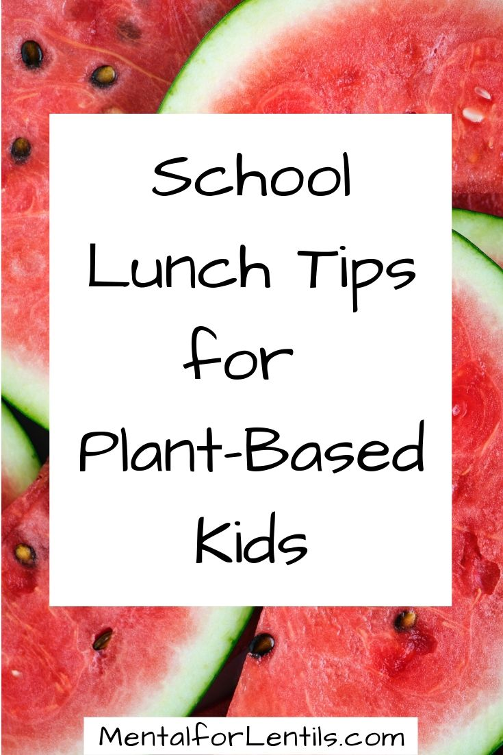 school lunch tips pin image