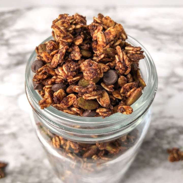 Easy Oil-Free Chocolate Granola