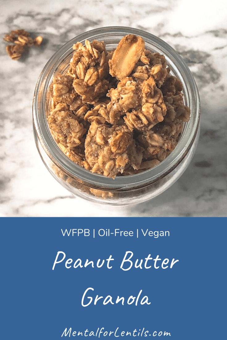 peanut butter granola pin image 2