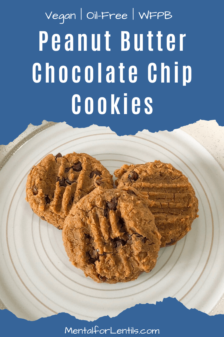 Peanut Butter Chocolate Chip Cookies pin image 1
