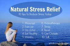 Natural stress relief as self-help for anxiety and depression. But psychosis?