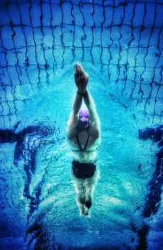 Swimming is a great stress reliever