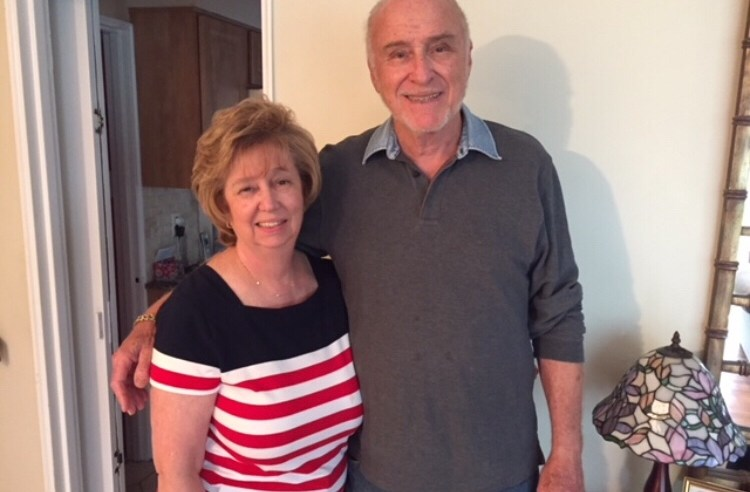Family Support👪: My parents, Jane and Frank Guttman