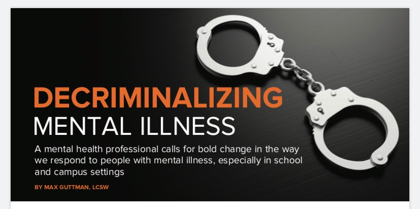 Decriminalizing Mental Illness👿