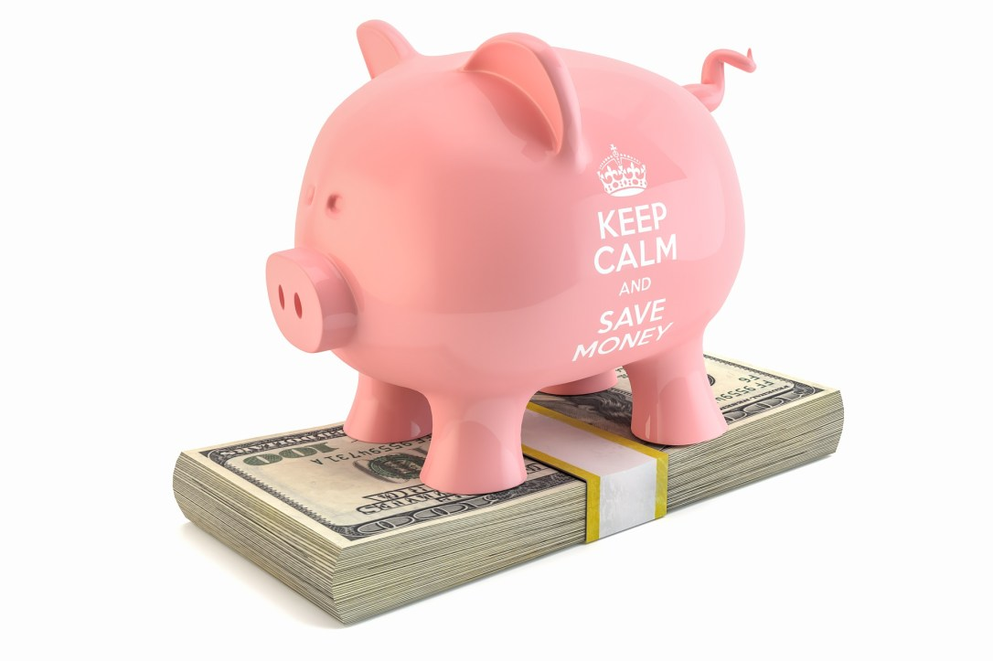 make money blogging - piggy bank