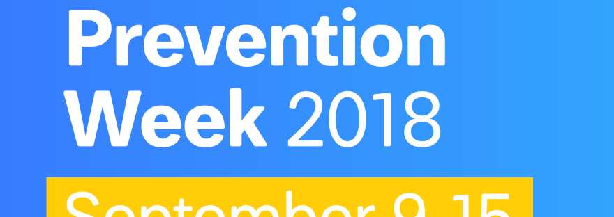 AFSP National Suicide prevention week 2018