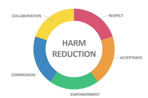Harm reduction - how can it be applied to self-harm?