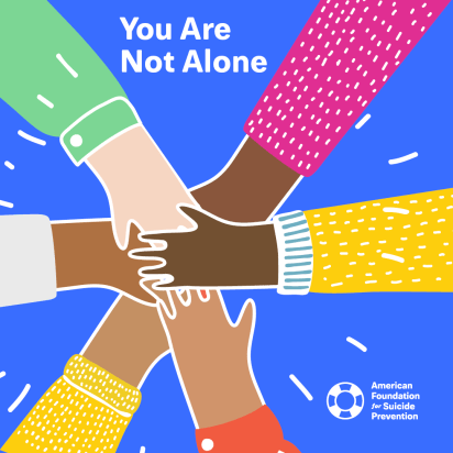 AFSP - you are not alone