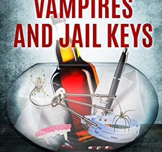 book cover: Spiders, Vampires and Jail Keys by Brooke O'Neill