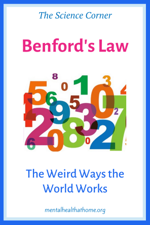 Benford's law: graphic showing integers of different sizes