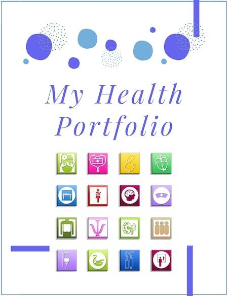 My Health Portfolio from Mental Health @ Home