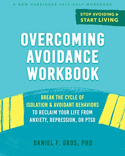 book cover; Overcoming Avoidance workbook