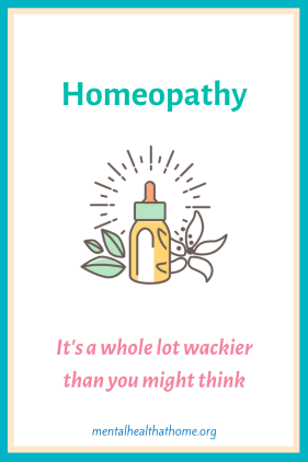 Homeopathy: it's a whole lot wackier than you might think