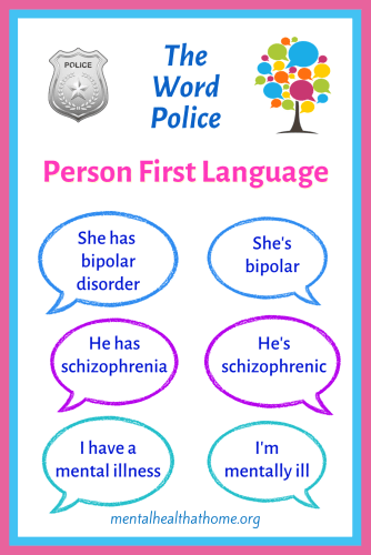The word police: person first language