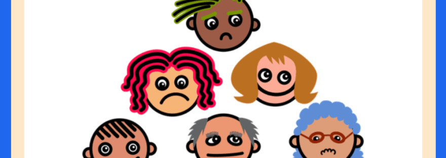 Why are only some differences socially relevant? - cartoon faces