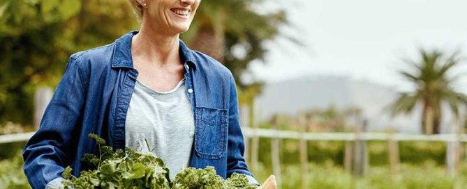 Mental Gardener - Blog Post Banner Image - Picture of Lady Gardening - Mental Health Foundation