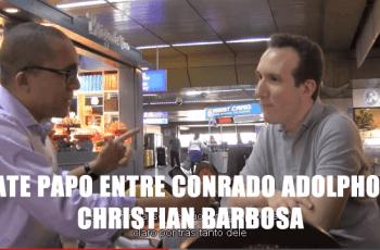 Bate Papo Sensacional entre Conrado Adolpho e Christian Barbosa