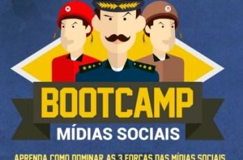 BootCamp de Mídias Sociais Começou Hoje, Participe é Grátis!