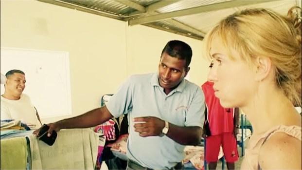 Creative Director Sadie Kaye at El Rodeo Jail Venezuela