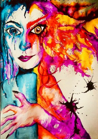 Art As Self-Help Therapy by Artist Jade Bryant