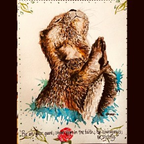 Otter by Jade ryant