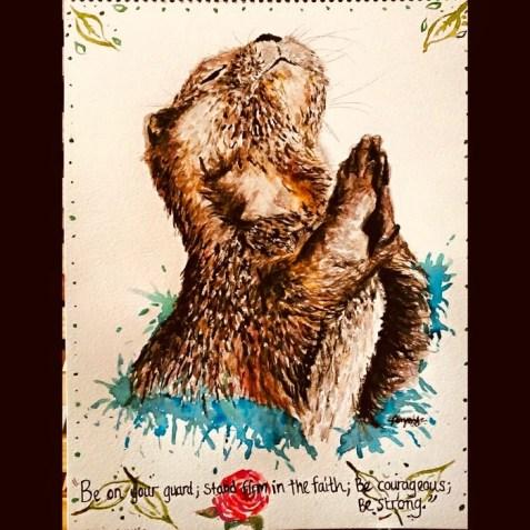 Otter by Ambassador Jade Bryant