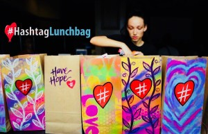 Mental Ideas Loves... Hashtag Lunchbag
