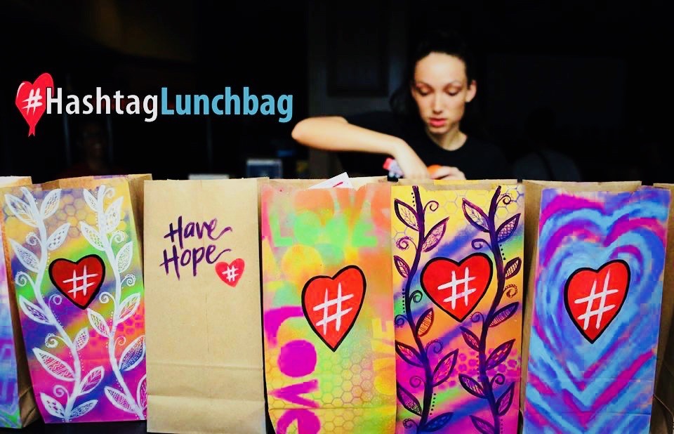 Mental Ideas Loves... Hashtag Lunchbag