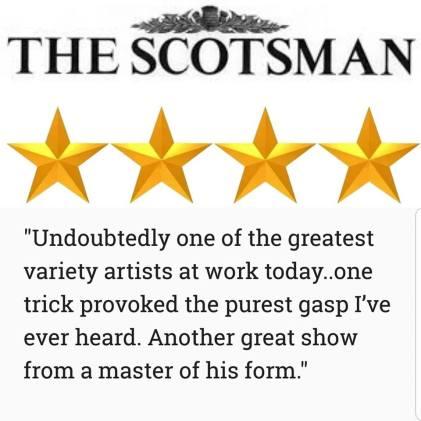 Mat Ricardo Edinburgh Fringe Review - Scotsman