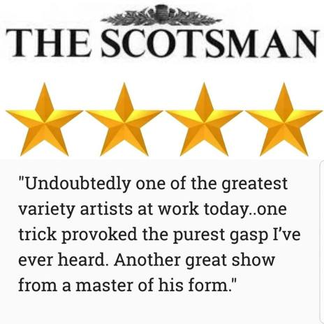 Mat Ricardo Edinburgh Fringe Review - Scotsman