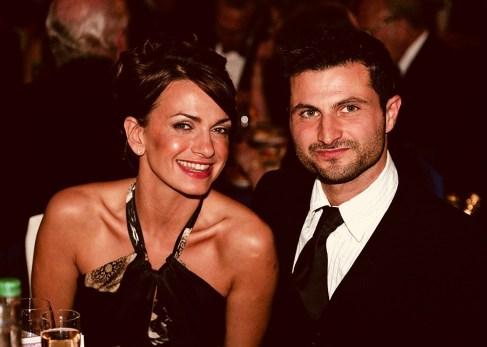 Raff and actress wife Simone Lahbib