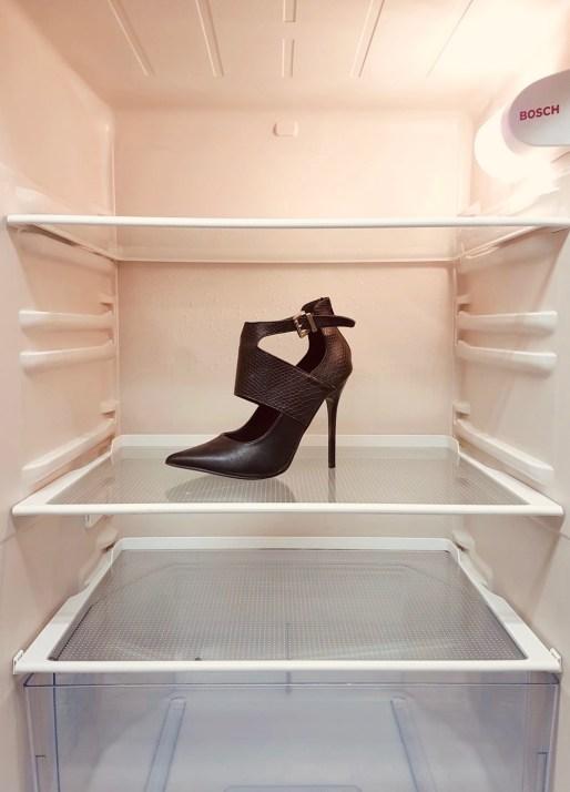 check the fridge