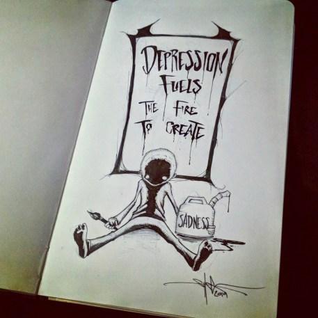 Depression Fuels Fire - Shawn Coss