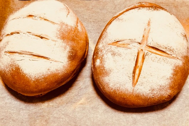 Ying's first loaves!