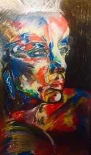 Broken Mirror - Art by Rebecca Dandridge-Walker