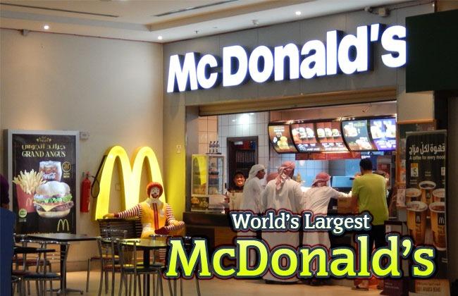Worlds Largest Mcdonalds Russia