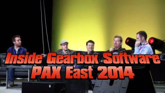 Inside Gearbox Software Panel PAX East 2014