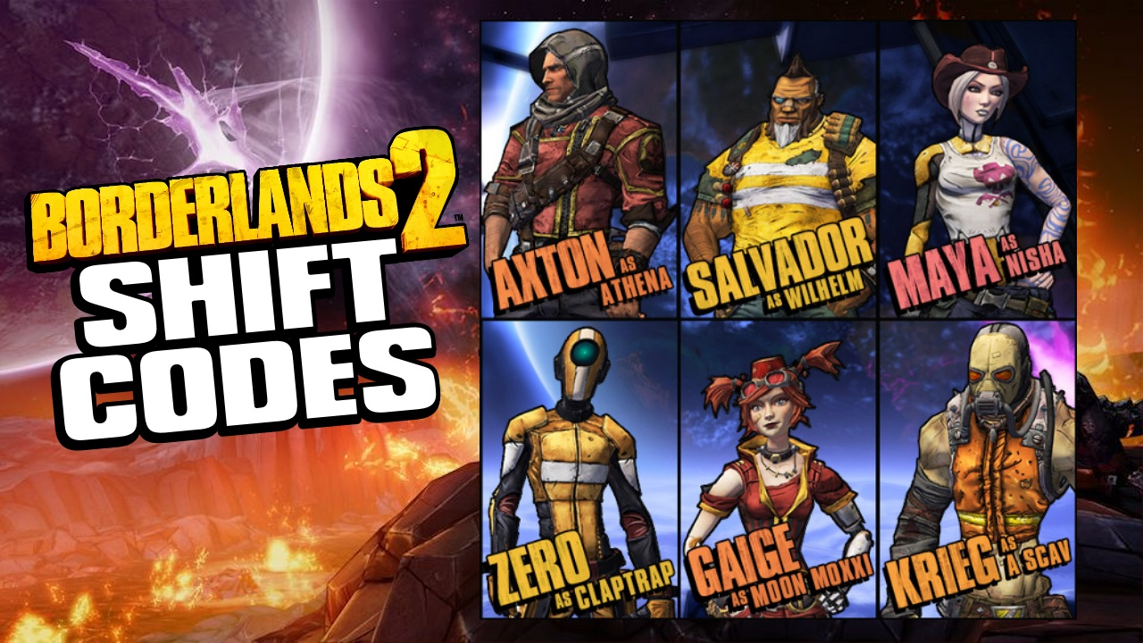 Bl2 shift codes list : Red lobster card