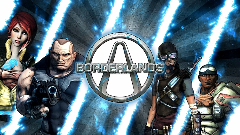 Borderlands - Original Vault Hunters Wallpaper