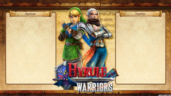 Hyrule Warriors - Menu Wallpaper