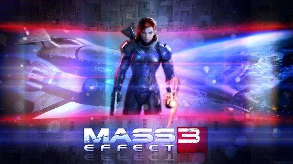 Mass Effect Wallpaper - Female Shepard