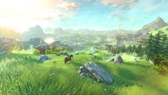 The Legend of Zelda Overworld
