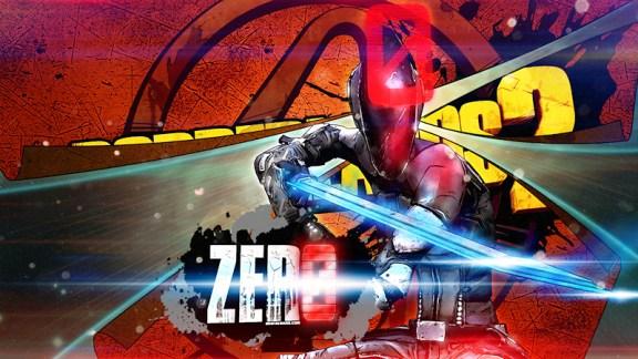 Borderlands 2 - Zero Wallpaper (Red)