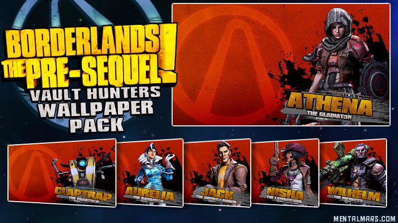 BLTPS - Vault Hunter Wallpaper Pack
