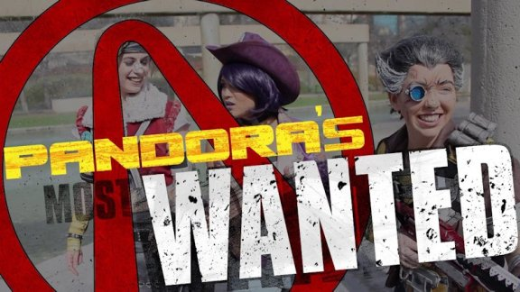 Pandora's Most Wanted Borderlands cosplayers