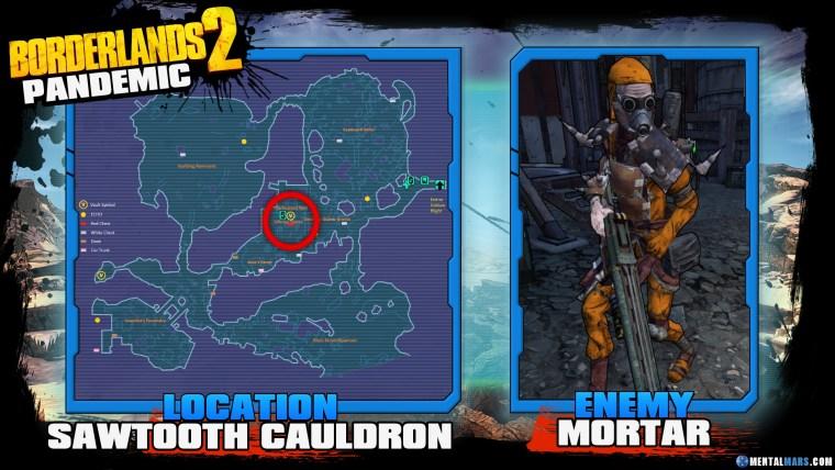 Borderlands 2 Legendary Pandemic Location Guide