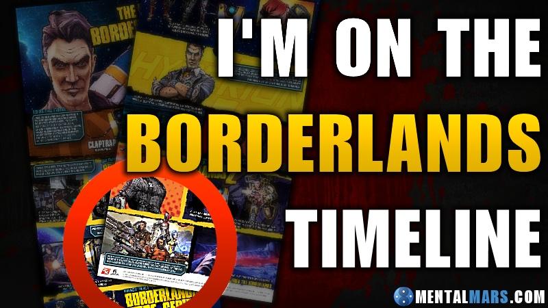 Borderlands Timeline Award