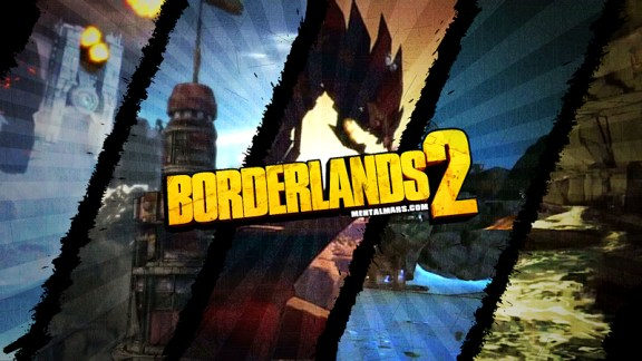 Borderlands 2 Wallpaper - Crossing the Territories