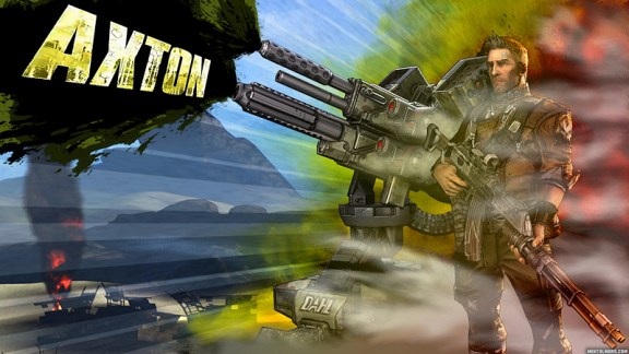 Borderlands 2 Wallpaper - Axton the Commando